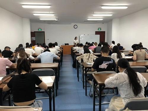 深圳在职学习中心成考期末考试现场