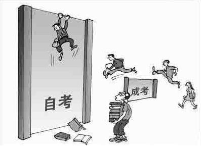 成人高考和自学考试