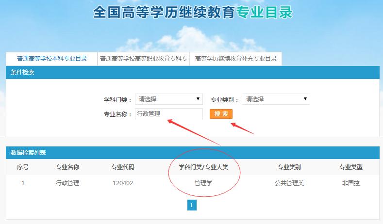 深圳成人高考专业查询